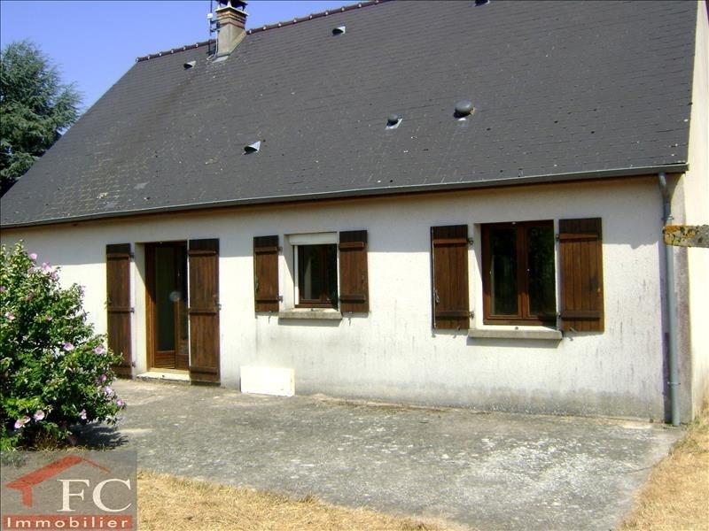 Sale house / villa St nicolas des motets 120200€ - Picture 1