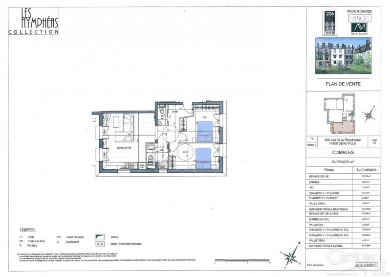 Venta  apartamento Deauville 335000€ - Fotografía 2