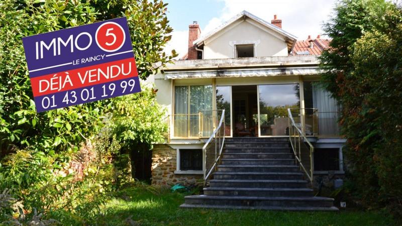 Sale house / villa Villemomble 422000€ - Picture 1