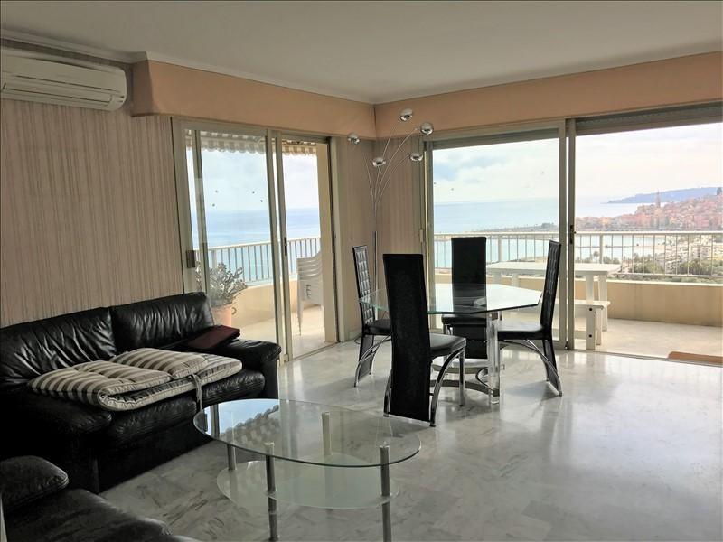 Vente appartement Menton 550000€ - Photo 1