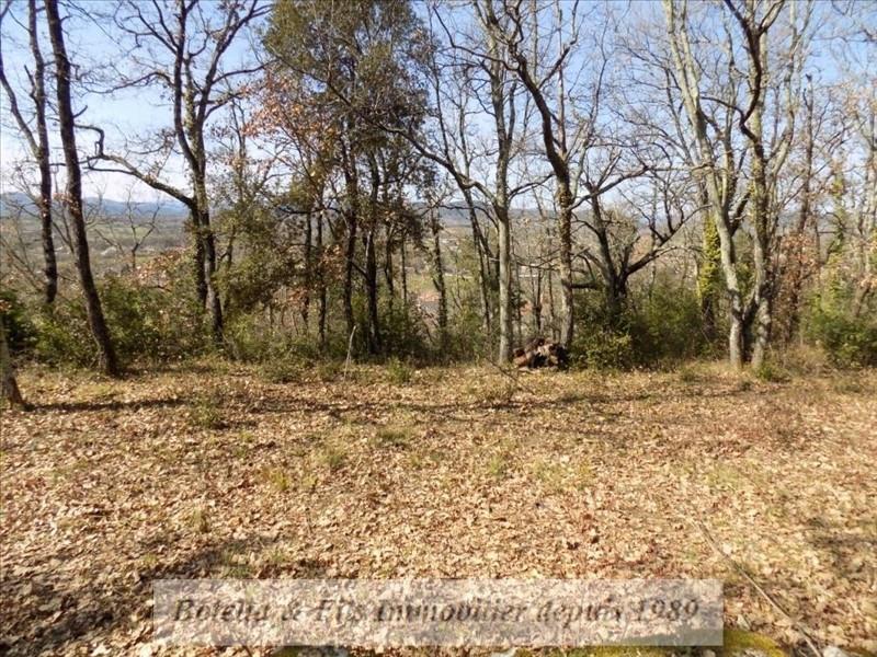 Verkoop  stukken grond Barjac 50000€ - Foto 1