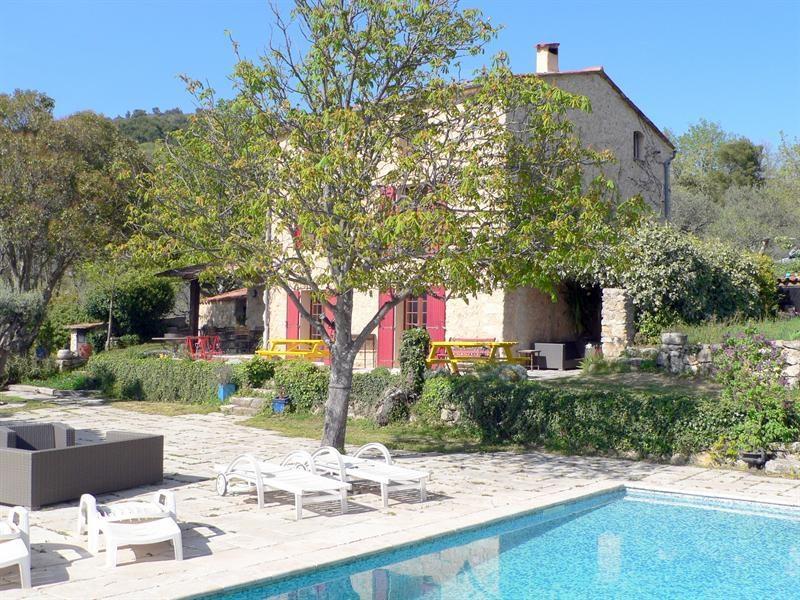 Deluxe sale house / villa Fayence 892000€ - Picture 1