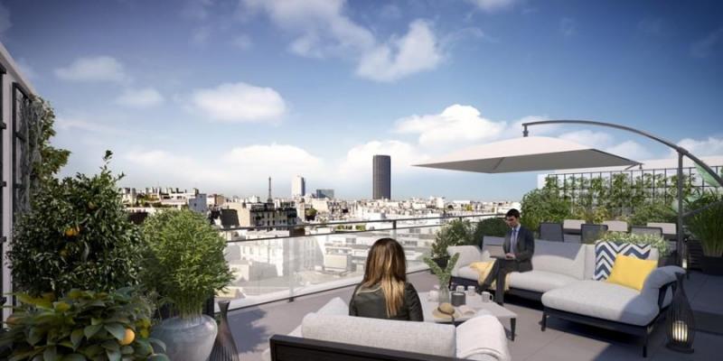 New home sale program Paris 14ème  - Picture 1