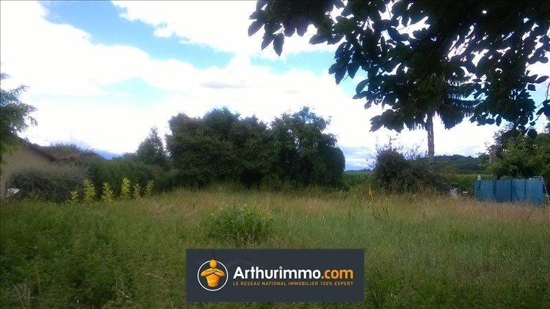 Vente terrain Morestel 76 000€ - Photo 1