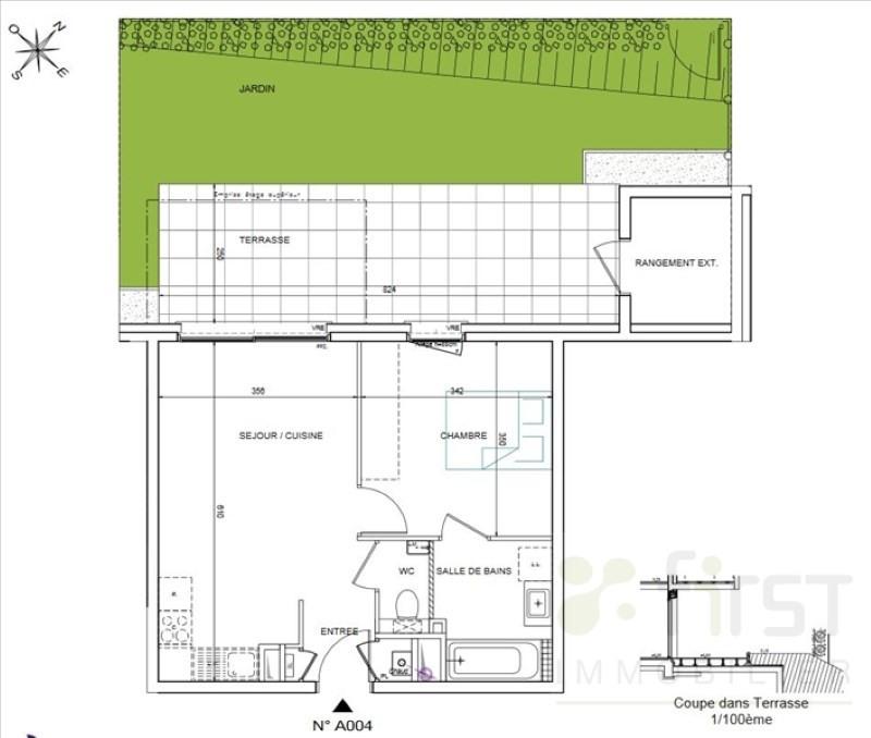 Vente appartement Collonges sous saleve 221000€ - Photo 2