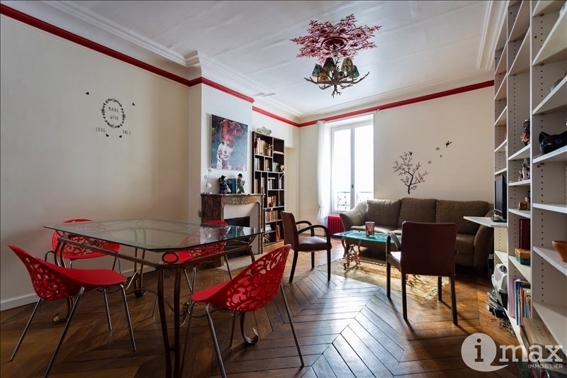 Sale apartment Paris 17ème 467 000€ - Picture 2