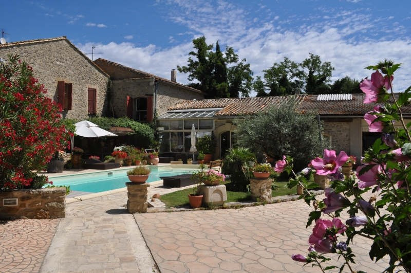 Verkoop van prestige  huis Chateauneuf de gadagne 1567000€ - Foto 7