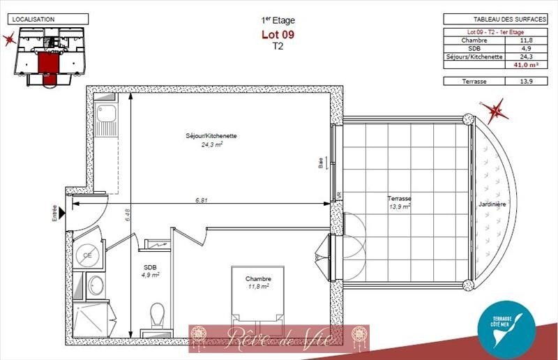 Deluxe sale apartment Bormes les mimosas 235000€ - Picture 2