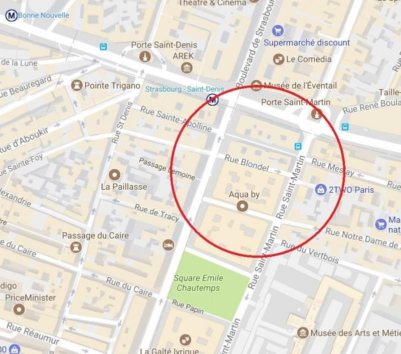 Location boutique Paris 2ème 1 500€ HT/HC - Photo 1