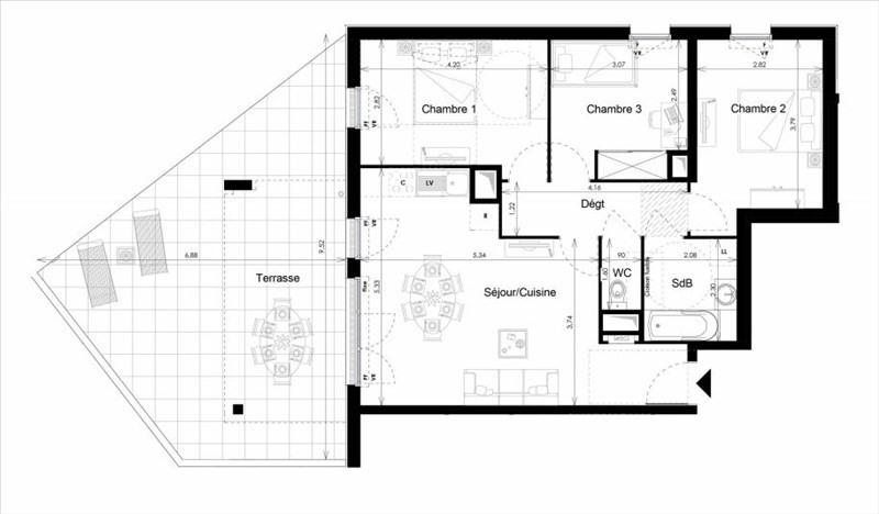 Vendita appartamento La londe les maures 289000€ - Fotografia 1