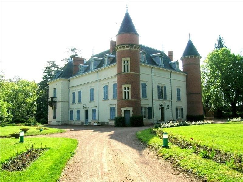 Venta de prestigio  castillo Roanne 913500€ - Fotografía 2