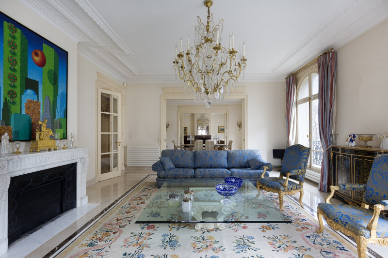 Vente de prestige appartement Paris 7ème 5700000€ - Photo 4