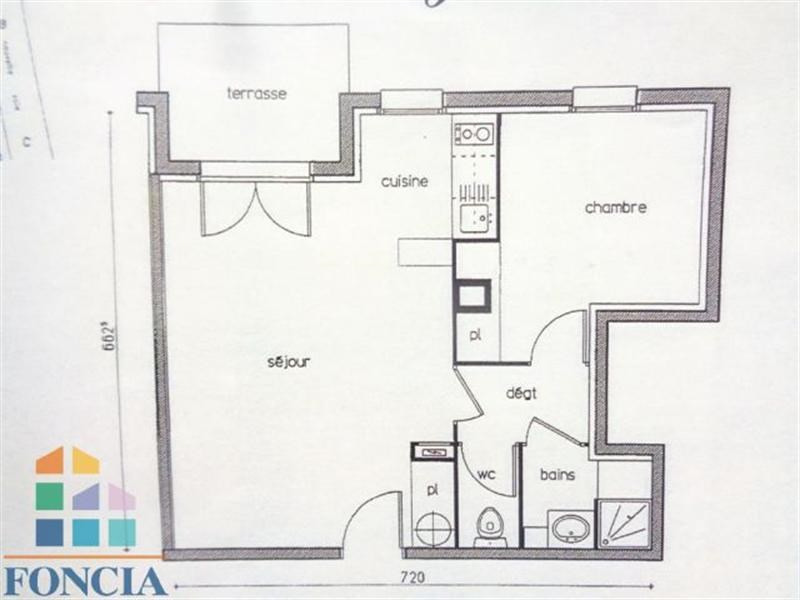 Vente appartement 2 pi ces poitiers appartement f2 t2 2 for Outils multifonction poitiers