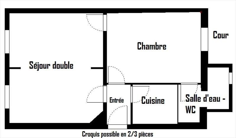 Vente appartement Vanves 222600€ - Photo 4