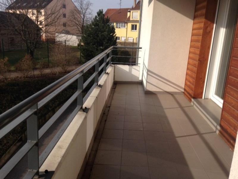 Rental apartment Souffelweyersheim 1006€ CC - Picture 1
