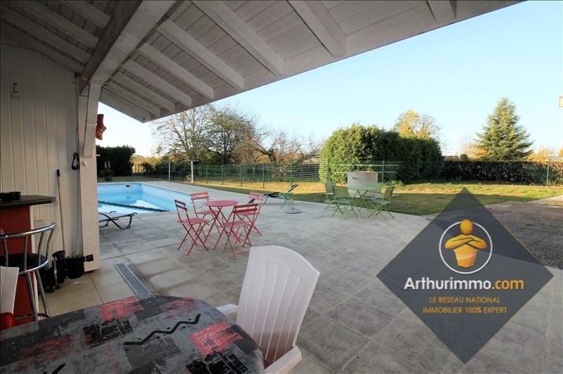 Sale house / villa St romain de jalionas 352900€ - Picture 6