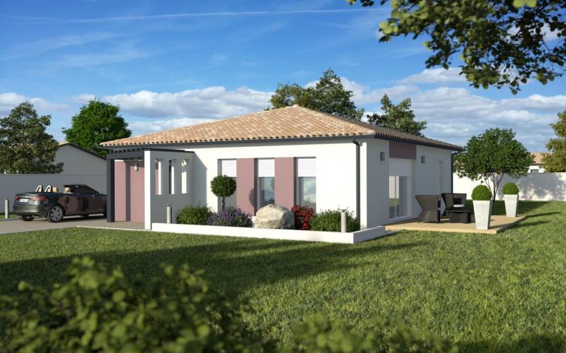 """Modèle de maison  """"Maison carré 94m²"""" à partir de 4 pièces Lot-et-Garonne par MAISONS ECG"""
