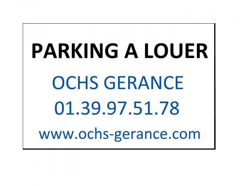 Rental parking spaces Franconville 50€ CC - Picture 1