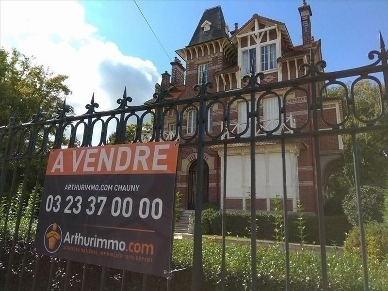 Sale house / villa Chauny 422000€ - Picture 1