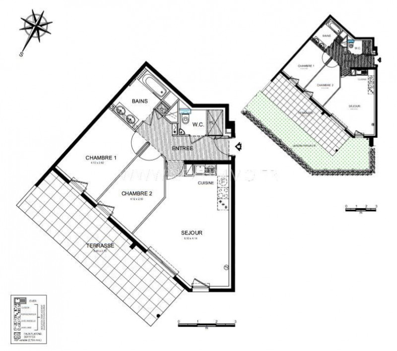Vente appartement Roquebrune-cap-martin 416000€ - Photo 3