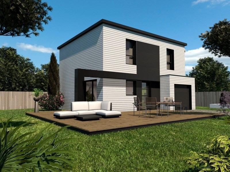 Maison  5 pièces + Terrain 695 m² Saint Urbain par PRIMOBOIS