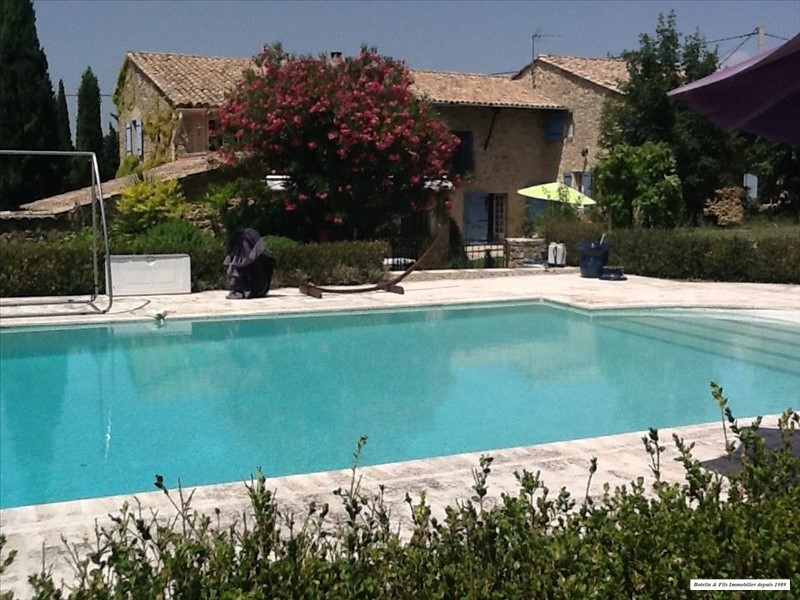 Vente de prestige maison / villa Goudargues 580 000€ - Photo 1