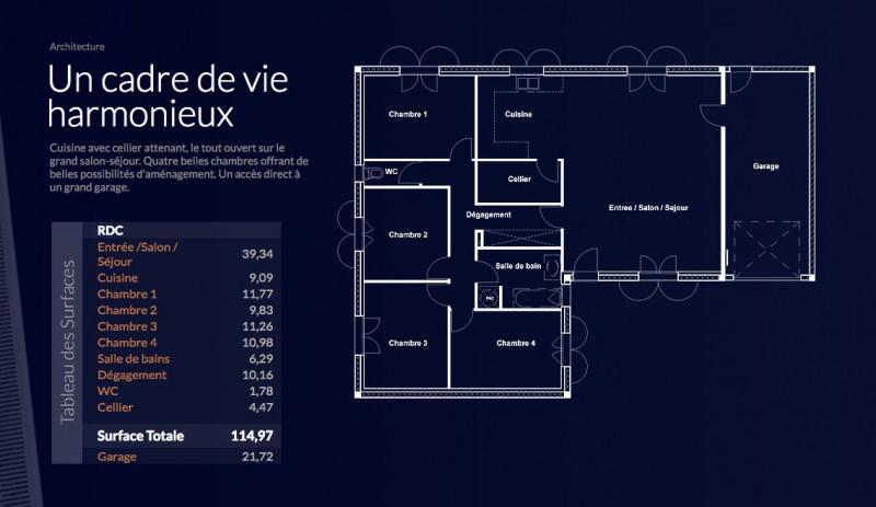 """Modèle de maison  """"Myriade 4-115"""" à partir de 5 pièces Hautes-Pyrénées par LOGISBOX"""