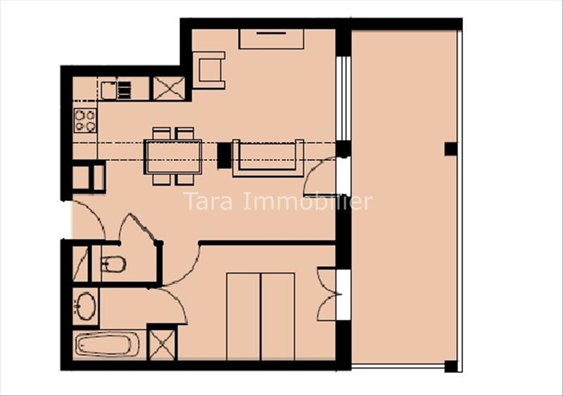 Sale apartment Vallorcine 226 800€ - Picture 4