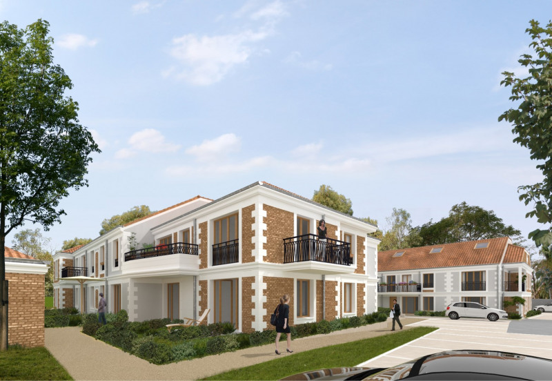 La r sidence du parc programme immobilier neuf coubron for Immobilier neuf idf