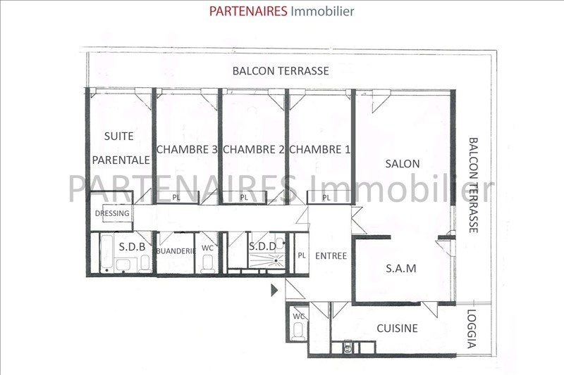 Sale apartment Rocquencourt 645 000€ - Picture 8