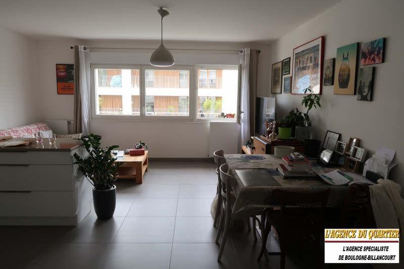 Vente appartement Boulogne billancourt 450000€ - Photo 1