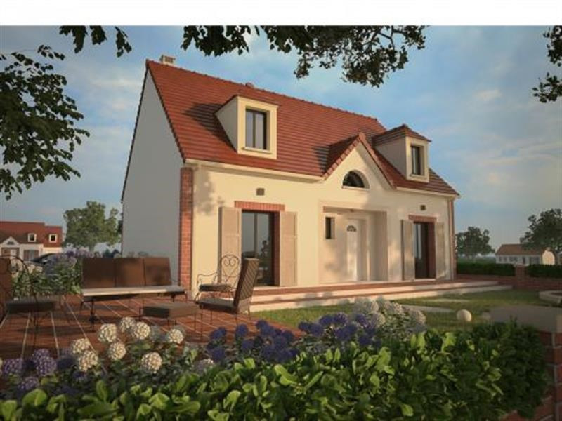 """Modèle de maison  """"Modèle de maison 6 pièces"""" à partir de 6 pièces Seine-et-Marne par MAISONS D'EN FRANCE - SEINE-ET-MARNE"""