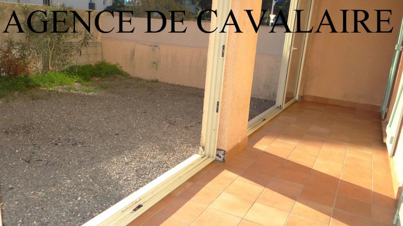 Appartement T 2 à Cavalaire en rez-de-jardin avec Garage