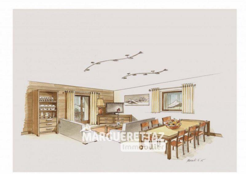 Sale apartment Morillon 300000€ - Picture 2