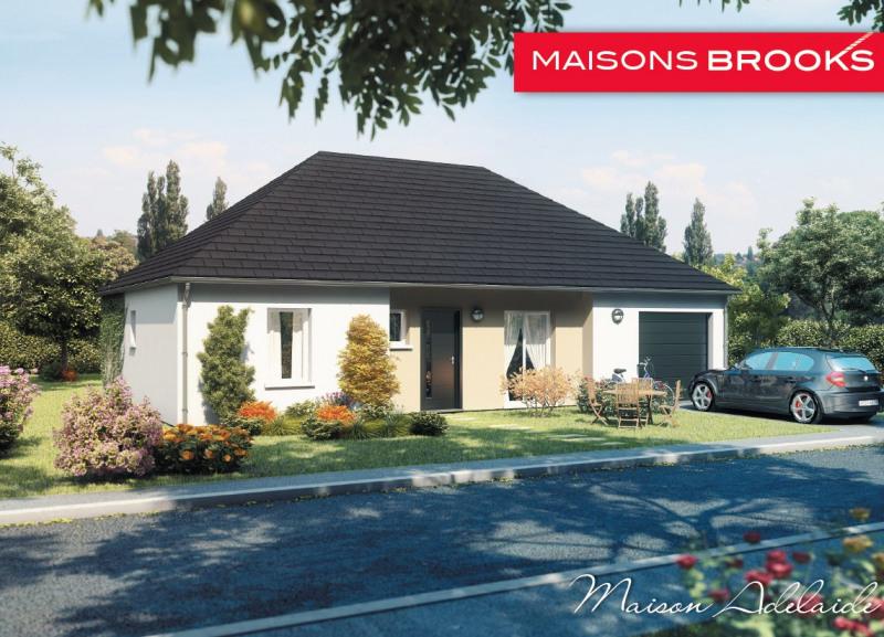 """Modèle de maison  """"Modèle de maison plain-pied 5 pièces"""" à partir de 5 pièces Seine-et-Marne par MAISONS BROOKS REIMS"""