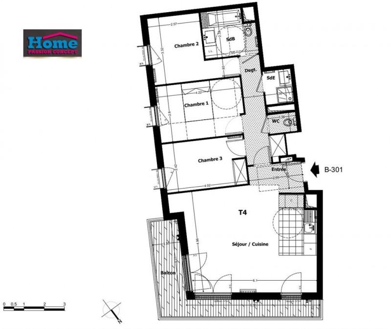 Sale apartment Rueil malmaison 601000€ - Picture 1