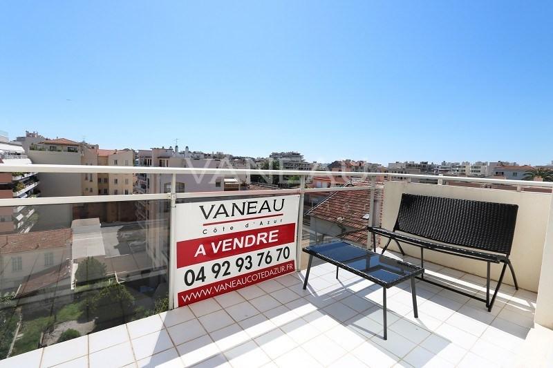 Vente appartement Juan-les-pins 249000€ - Photo 1