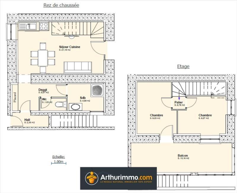 Vente maison / villa Morestel 89000€ - Photo 4