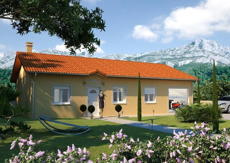 Maison  4 pièces + Terrain 450 m² Charvieu-Chavagneux par LES TOITS DE PROVINCE