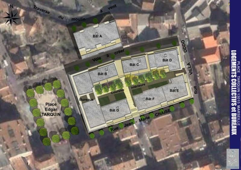 Village méditerranée bâtiment d programme immobilier neuf Marseille ...