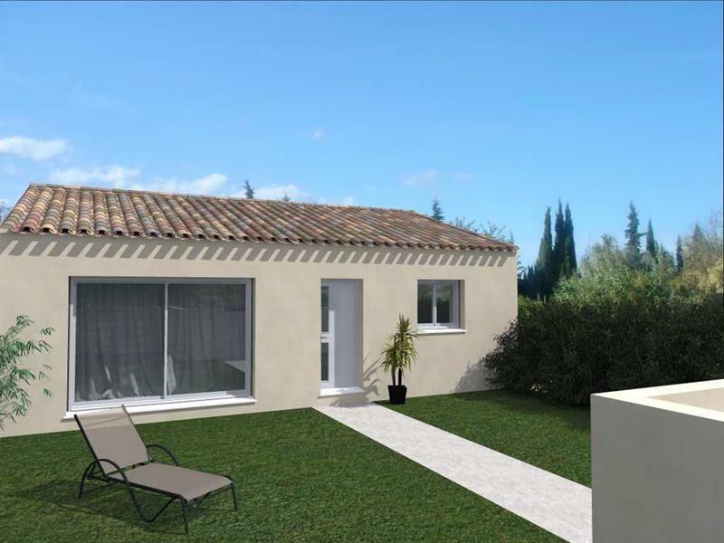 Maison  4 pièces + Terrain 450 m² Saint-André-de-Sangonis par Domitia Construction