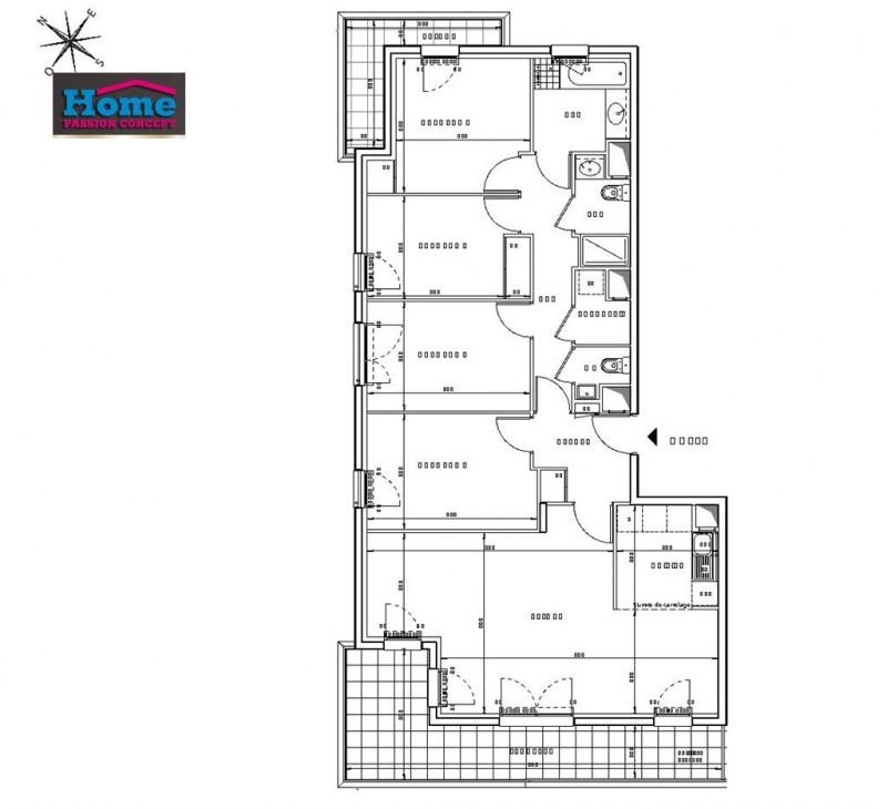 Sale apartment Rueil malmaison 848000€ - Picture 2