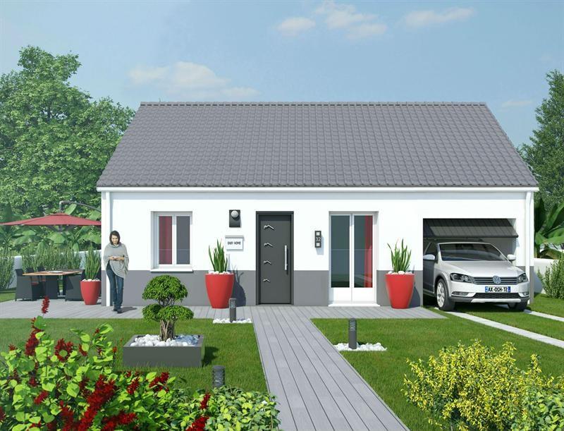 Maison  3 pièces + Terrain 335 m² Brouilla par MAISONS COTE SOLEIL