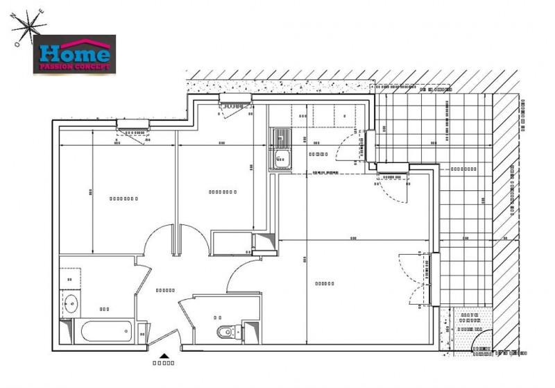 Sale apartment Rueil malmaison 417000€ - Picture 2
