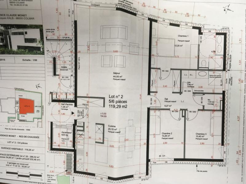 Vente appartement Colmar 540000€ - Photo 2