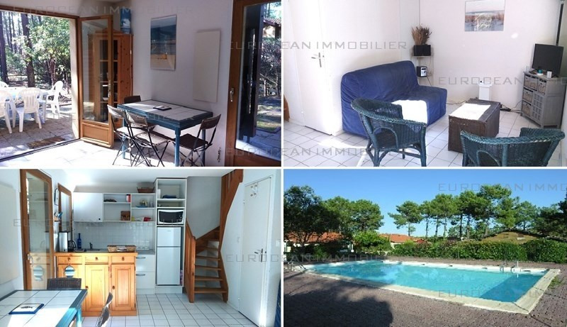Location vacances maison / villa Lacanau-ocean 453€ - Photo 1