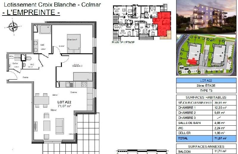 Revenda apartamento Colmar 194000€ - Fotografia 2