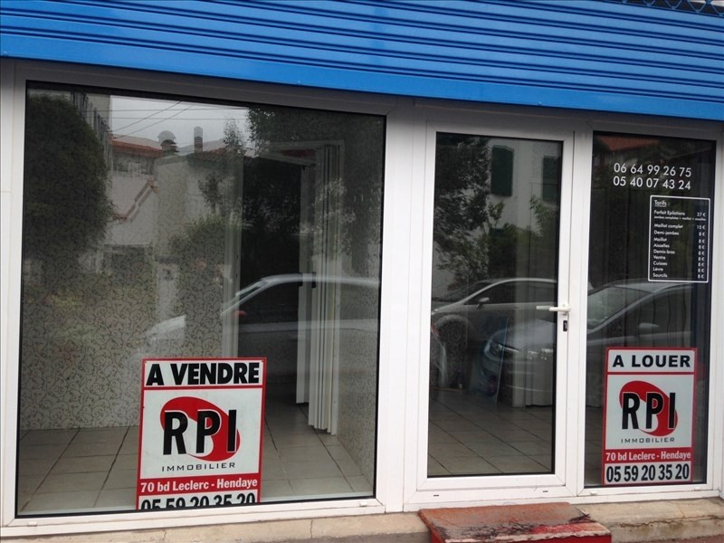 Vente boutique Hendaye 108000€ - Photo 1