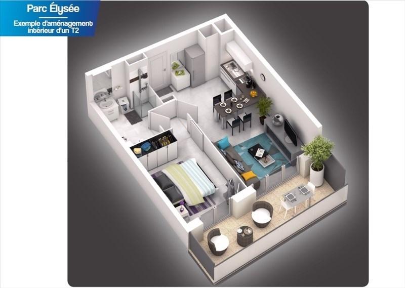 Vente appartement Castelnau le lez 198000€ - Photo 2