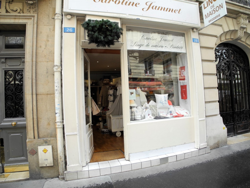 Commercial lease transfer shop Paris 17ème 82 000€ - Picture 1